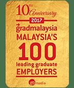 Gradmalaysia Malaysia's 100 Leading Graduate Employers 2017