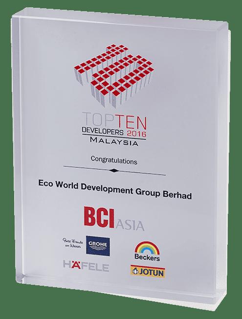BCI Asia Awards 2016