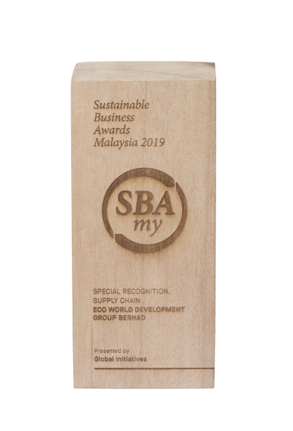 Sustainable Business Awards Malaysia 2019 – Special Recognition